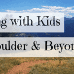 Hiking with Kids boulder