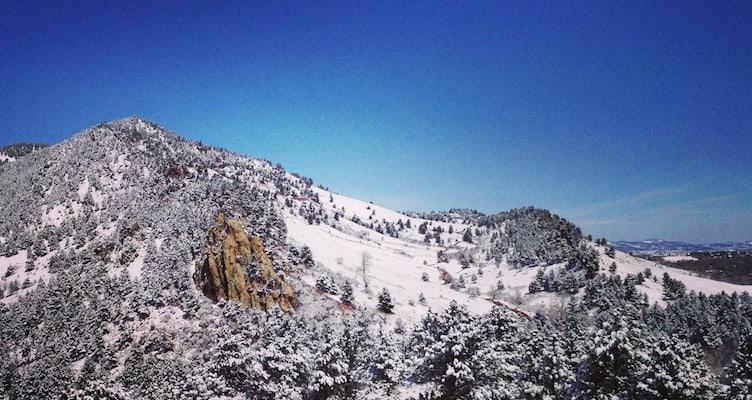 boulder winter hiking
