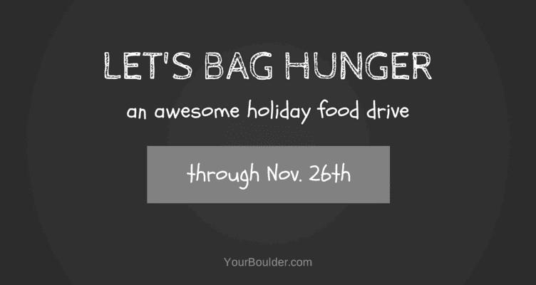 LET'S BAG HUNGER boulder food drive
